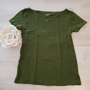 J.Crew Olive Green Tshirt
